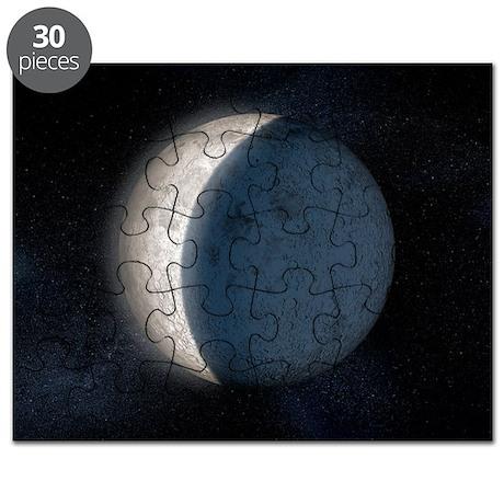 Lunar eclipse, artwork Puzzle