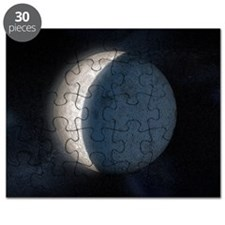 Lunar eclipse, artwork Puzzle