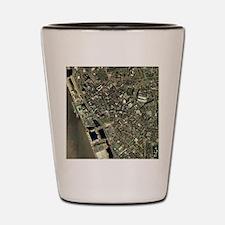 Liverpool, UK, aerial image Shot Glass