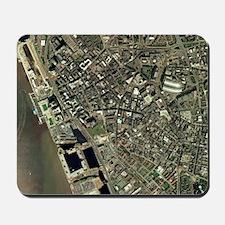 Liverpool, UK, aerial image Mousepad