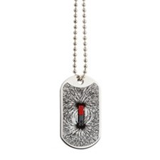 Magnetic field Dog Tags
