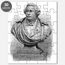 Louis Daguerre, French chemist Puzzle