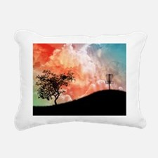 Basket On A Hill Rectangular Canvas Pillow