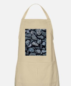 Lumps of high-grade anthracite coal Apron