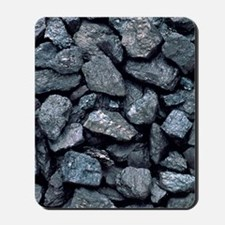Lumps of high-grade anthracite coal Mousepad