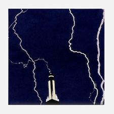 Lightning strike Tile Coaster
