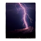 Lightning bolt Fleece Blankets