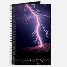 Lightning over Tucson Journal