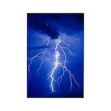 Lightning in Arizona Rectangle Magnet