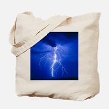 Lightning in Arizona Tote Bag