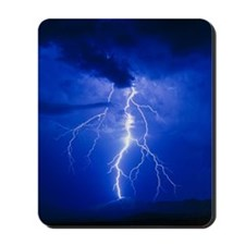 Lightning in Arizona Mousepad