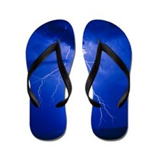 Lightning in Arizona Flip Flops