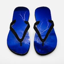 Lightning in Arizona Flip Flops
