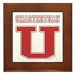 Smarterthan U. Framed Tile