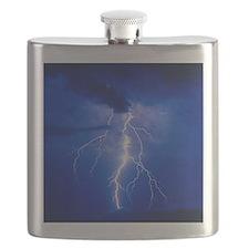 Lightning in Arizona Flask