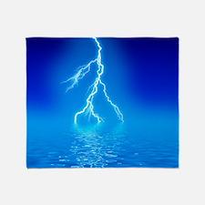 Lightning Throw Blanket