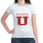 Smarterthan U. Jr. Ringer T-Shirt