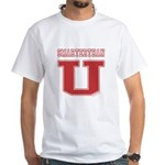 Smarterthan U. White T-Shirt