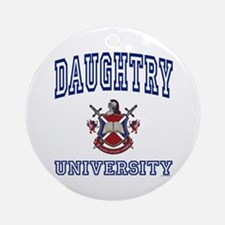 DAUGHTRY University Ornament (Round)