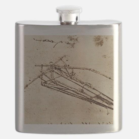 Leonardo's Ornithopter Flask
