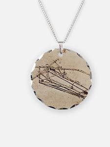 Leonardo's Ornithopter Necklace