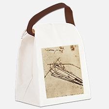 Leonardo's Ornithopter Canvas Lunch Bag