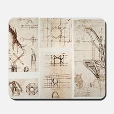 Leonardo's designs for Milan Cathedral Mousepad