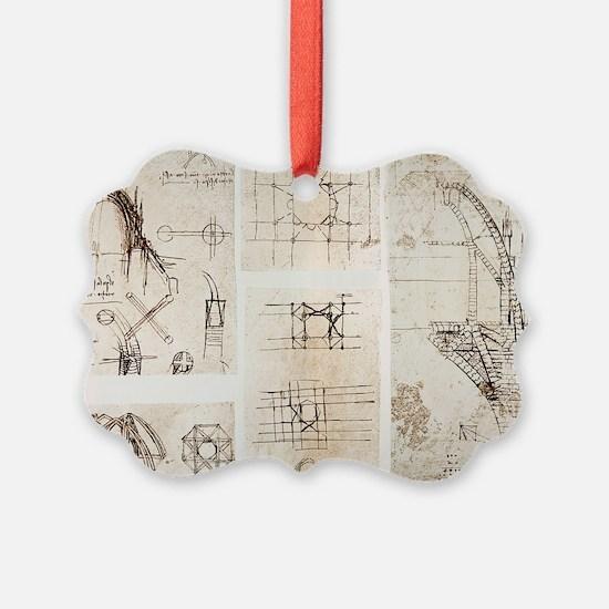 Leonardo's designs for Milan Cath Ornament