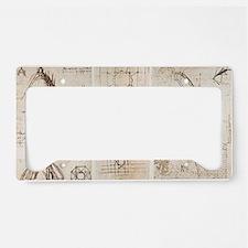 Leonardo's designs for Milan  License Plate Holder