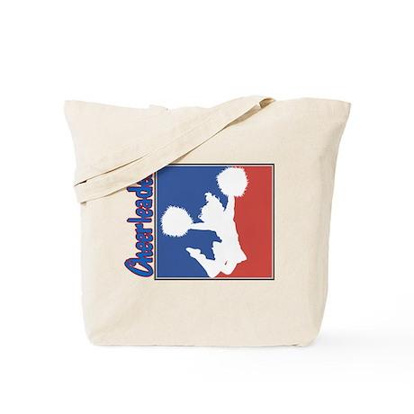 Patriotic Cheerleader Tote Bag