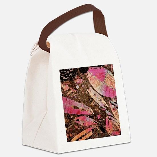Limestone Canvas Lunch Bag