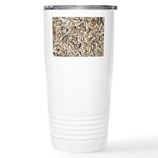 Limestone with Turritella shell Travel Mug