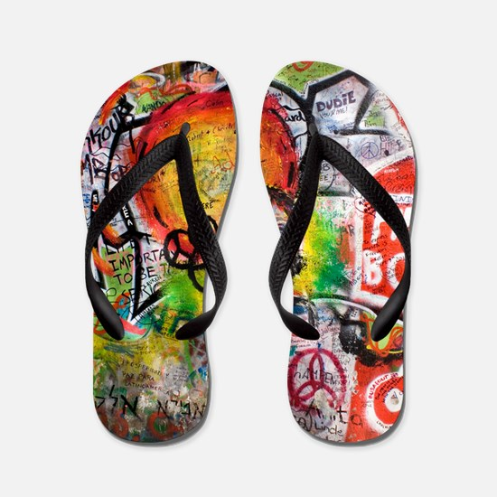 Lennon Wall, Prague Flip Flops