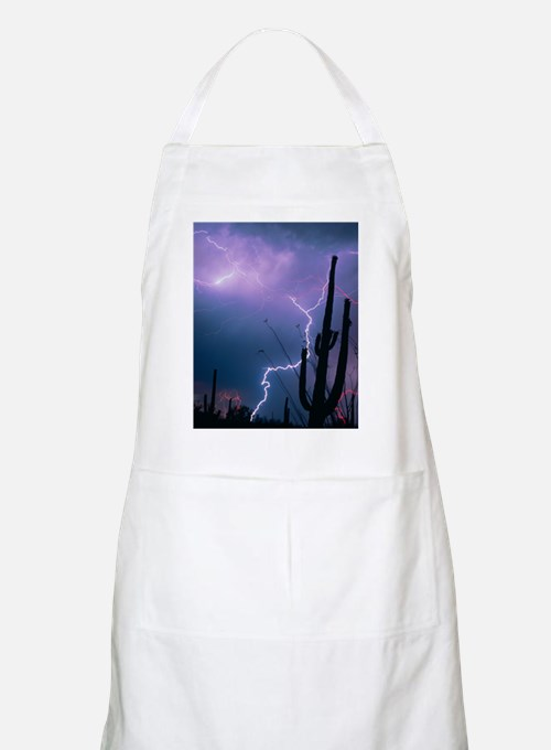 Lightning storm over Tucson, Arizona Apron