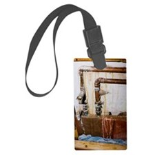 Leaking water pipes Luggage Tag