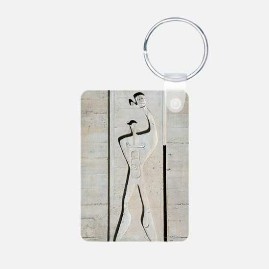 Le Corbusier design Aluminum Photo Keychain