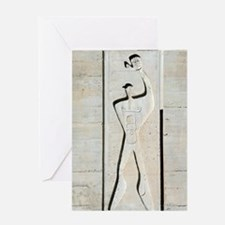 Le Corbusier design Greeting Card