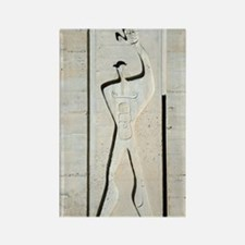 Le Corbusier design Rectangle Magnet