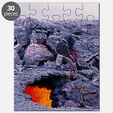 Lava tube, Kilauea volcano, Hawaii Puzzle