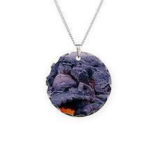 Lava tube, Kilauea volcano,  Necklace
