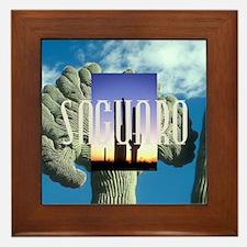 saguarosq Framed Tile