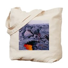 Lava tube, Kilauea volcano, Hawaii Tote Bag