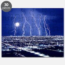 Lightning over Tucson Puzzle