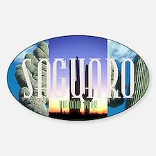 saguaro1 Sticker (Oval)