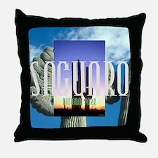 saguaro1 Throw Pillow