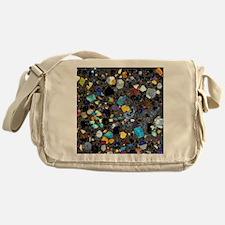 Leucite basanite, thin section Messenger Bag