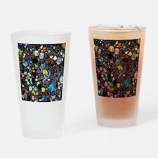 Leucite basanite, thin section Drinking Glass