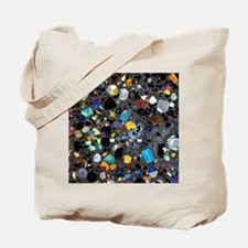 Leucite basanite, thin section Tote Bag