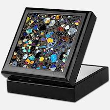 Leucite basanite, thin section Keepsake Box