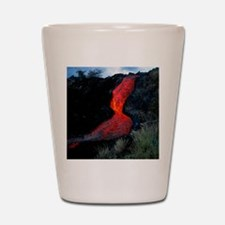 Lava flow Shot Glass